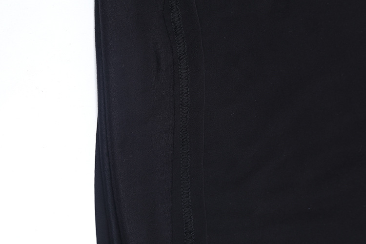 Charmed Sleeveless 19 Sexy Slim Lace Patchwork Dress European style Nightclub Split Blackless Mini Sheath Dress Robe Femme q** 16