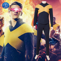 2019 New hot X men: Dark Phoenix cos tight clothes Halloween cosplay performance Halloween costumes male