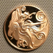 High quality and low price custom 3D Coin Medal Pianist Composer Ballet The Fire Bird cheap custom gold coins medals