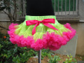 New arrival summer chiffon fluffy tutu girls pettiskirt 5 pieces/lot PETS-092