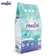 Стиральный порошок для детского белья Mepsi на основе натурального мыла, 2400 гр