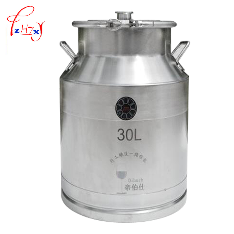 304 stainless steel Fermentation Liquor Barrel 30L Home Brewing Fermentation Barrel Wine Fermentor Brew Wine Making Tools 1pc fermentation technology