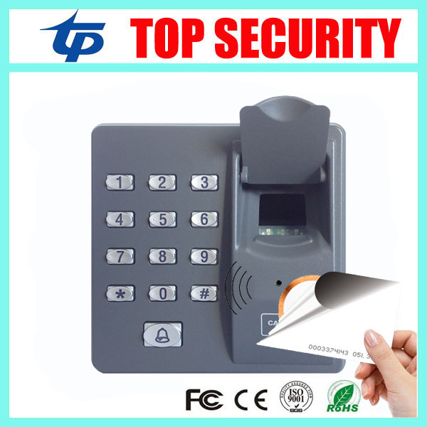 ZK fingerprint access control system with RFID card reader dustproof fingerprint access control reader dustproof replace X7 biometric fingerprint access controller tcp ip fingerprint door access control reader