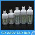 G9 220V 7W 10W 12W 15W 20W 25W LED lamp 24led 30led 36led 48led 69led spotlight,SMD 5730 LED Bulb crystal chandelier corn light