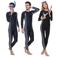 Любителей сиамских водолазный костюм с длинным рукавом весь Средства ухода за кожей Акула peel Скорость сухой купальник Для мужчин Для женщи