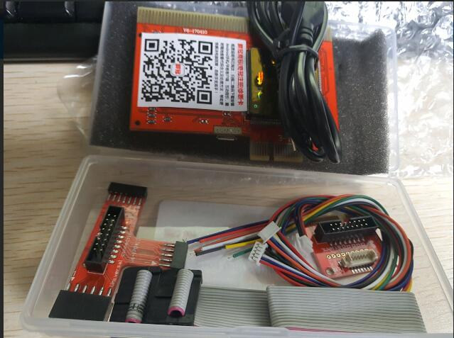 Computer Diagnostic Card PCIE Desktop Six-Diagnosis Host Testing Notebook Motherboard Failure LPC Detection