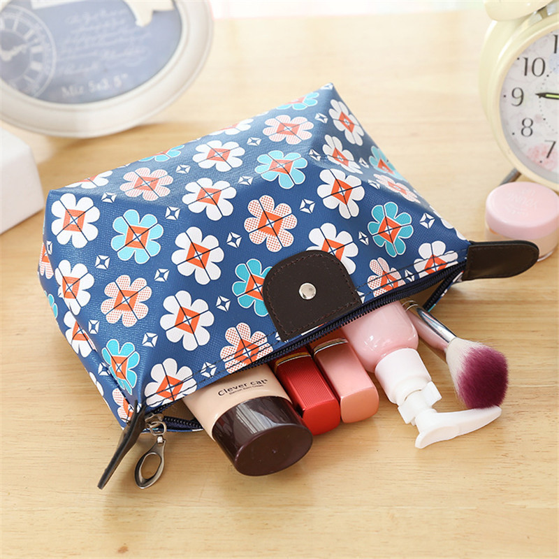Women Portable Multifunction Waterproof Zipper Travel Cosmetic Bag Makeup Case Makeup Wash Pouch Toiletry Bag Neceser in Cosmetic Bags Cases from Luggage Bags