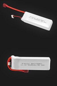 Image 5 - Verbesserte Rc lipo Batterie FT012S 11,1 v 3400 mah 30C 3 s Ersatz Li po Batterie für Feilun FT012 RC Boot