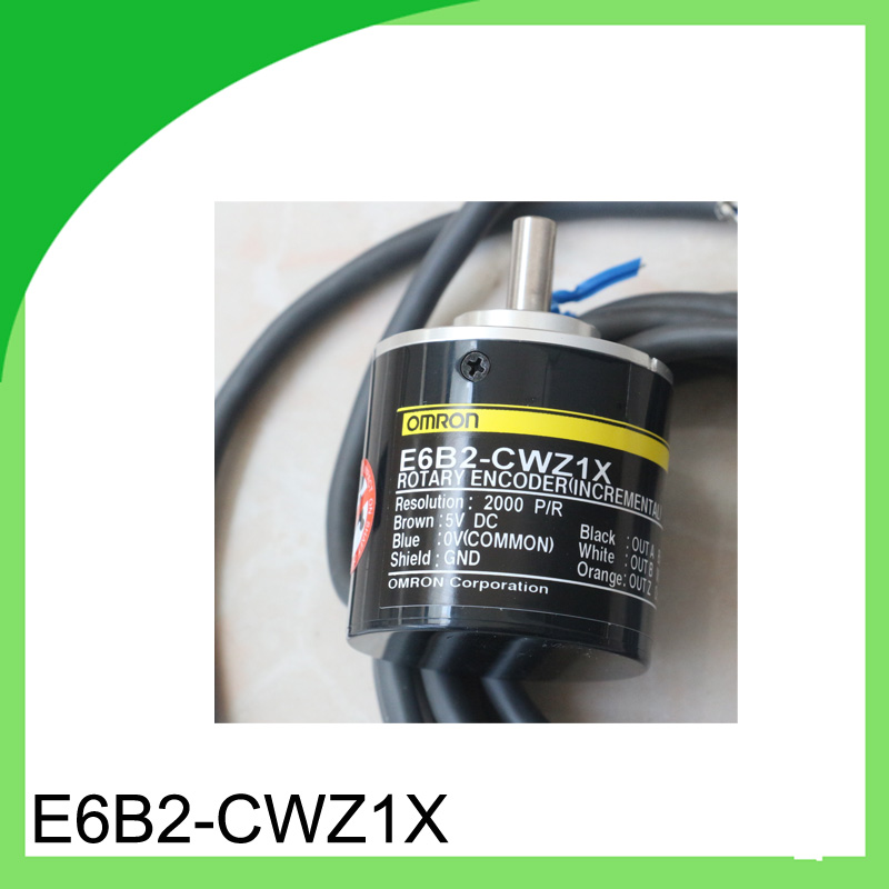 1pcs E6B2-CWZ1X 2000P/R encoder for Omron / 2000 line rotary encoder / 2M incremental encoder dhl ems 2 lots new omron rotary encoder e6a2 cw3e 360p r good in condition for industry use a1 page 1