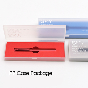 Image 5 - 2019 ใหม่มาถึง KACO SKY II Series ภาพวาดปากกา EF Nib สีดำ/สีแดง/สีฟ้าหมึกปากกาสำหรับของขวัญ