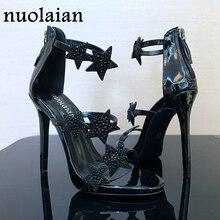 2018 12CM High Quality Sexy Women Pumps Brand High Heels Thin High Heels Wedding Shoes Woman Sandals Platform Shoes