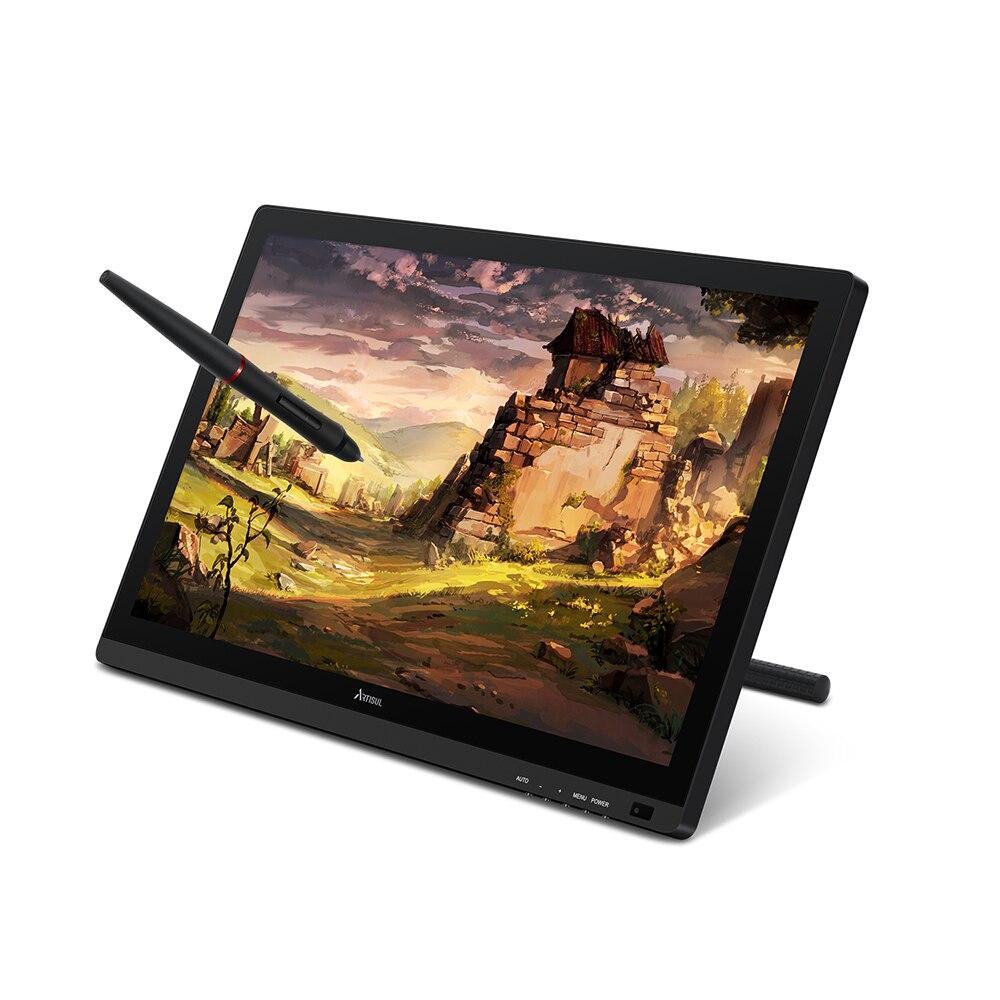 Artisul D22S 21.5 pouces stylo affichage IPS graphique tablette moniteur sans batterie numérique dessin tablette 8192 niveaux 76% Adobe RGB