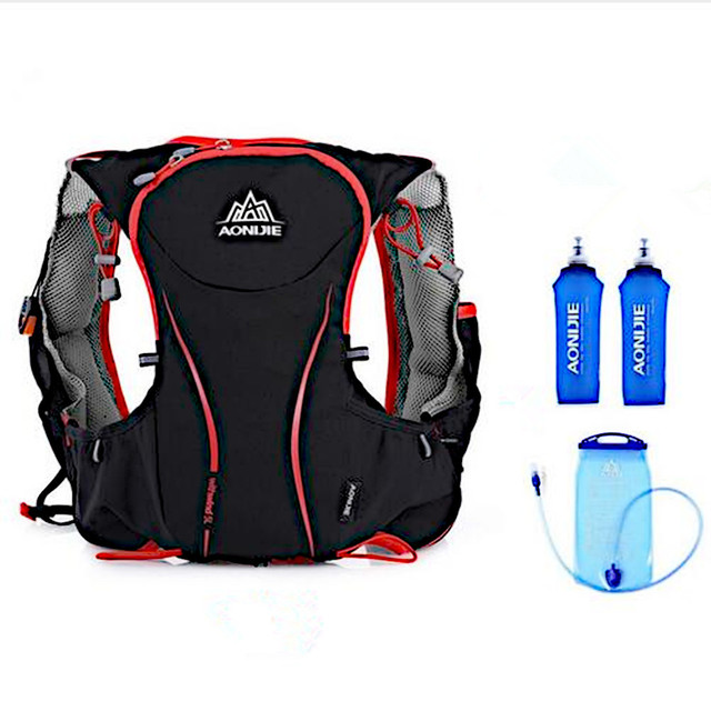 Aonijie 5l Running Backpack Outdoor Hydration Sport Bag Super Light Water Trail Vest