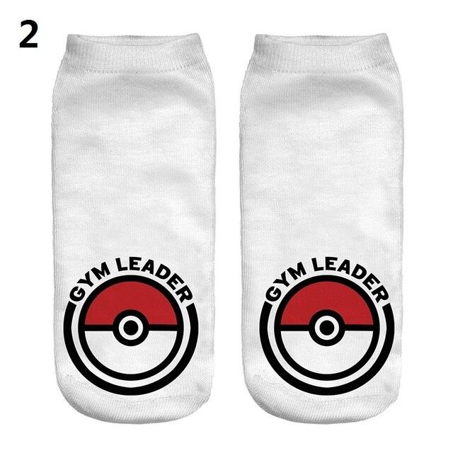 6 Pegatinas para uñas fuuny Calcetines invisibles Pokemon Elf Ball ...