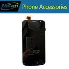 Высокое Качество Черный цвет Для Explay Communicator ЖК-дисплей и Сенсорный экран Замена 1 Шт./лот