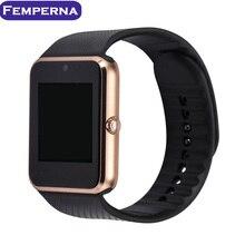 2016 nuevo smart watch 0.3mp con sim/tf tarjeta para apple ios samsung android teléfono mujeres de los hombres reloj de pulsera del deporte inteligente