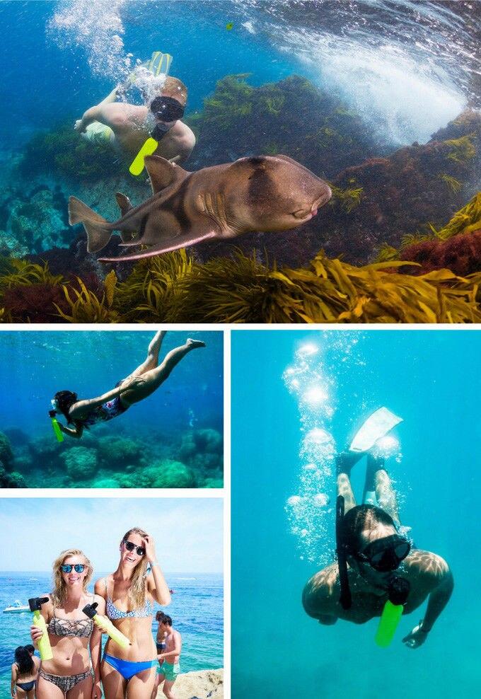 Équipement de plongée Mini Plongée sous-marine Cylindre D'oxygène Plongée Sous-Marine Réservoir Sous-Marine Respiration Adulte Équipement De Natation - 5