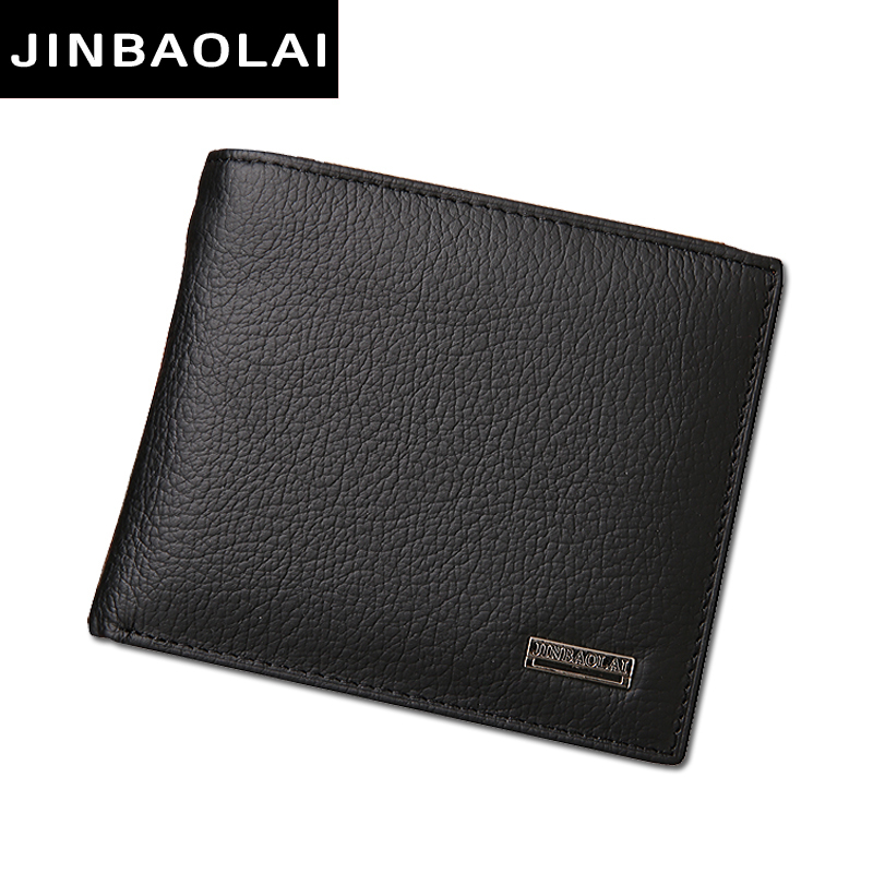 Luxury Genuine Leather Wallet Fashion Short Bifold Casual Male Wallet Soild Men Wallets With Hasp Coin Pocket Purses Card Holder oufankadi genuine leather wallet fashion short bifold men wallet casual soild men wallets with pocket purse male wallets