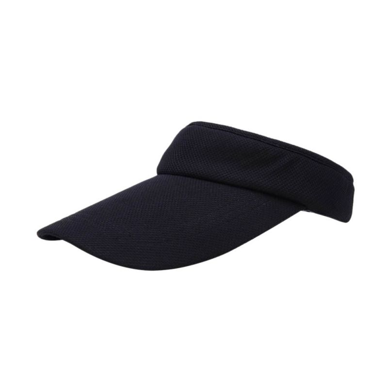 Unisex Women Men Summer Hat Cotton Blend Tennis Hat Sports Wide Solid Casual Sun Visor Hat Cap