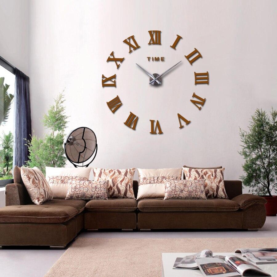 2018 hot reale arrivo specchio digitale grande orologio da parete ...