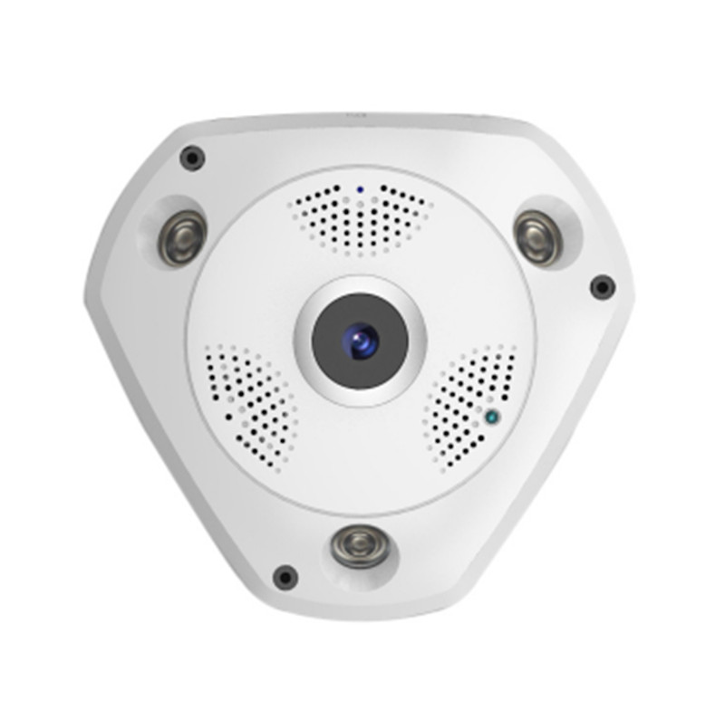 HD 960P 360 Degree VR Camera Wireless IP Camera 960p 1 3mp 360 degree panorama camera wireless intercom ip camera
