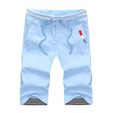SWENEARO Новинка мужские повседневные пляжные шорты крутые мужские однотонные удобные бермуды хлопковые шорты плюс размер M-4XL Homme шорты