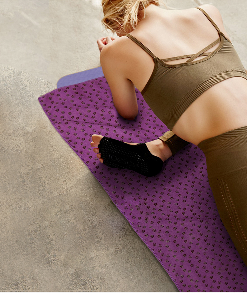 SeekNfind Microfiber Non slip Hot Yoga Bikram Yoga Mat Towel Yoga ... 8b25b672ee311
