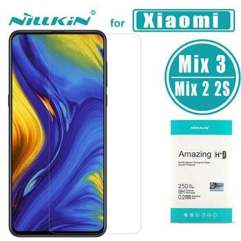 for Xiaomi Mi Mix 3 2 2S Glass Nillkin Amazing H+Pro 0.2MM Screen Protector Tempered Glass For Xiaomi Mi Mix 3 2 2S Mix2 film