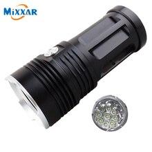 zk30 led flashlight MI-9 18000 lumen Camp Hunting Torch 9x Cree XM-L T6 tactical Lantern suitable 4x18650 battery
