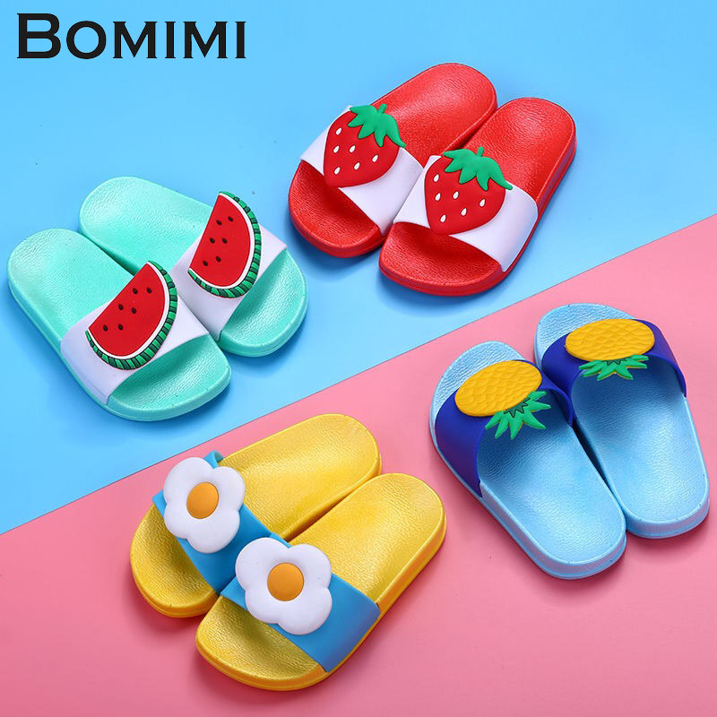 BOMIMI Women Slippers PVC Soft Women Slippers Indoor Shoes Open Toe Anti Slip Home Slippers Beach Flip Flops Flat Slide Sandal senza fretta women shoes new summer pvc slippers couples women anti slip home slippers indoor soft bottom women slippers