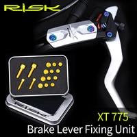 20pcs/set Titanium MTB Bicycle XT775 Hydraulic Disc Brake Oil Cylinder Lid BoltsMountain Bike Brake Handle Lever Screw set