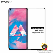 Full Glue Cover Glass For Samsung Galaxy M40 Scratch Proof Screen Protector For Samsung Galaxy M40 Tempered Film For Samsung M40