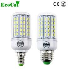 ECO CAT 2017 New Arrival E27 LED Corn Bulb Samsung 5730SMD light 220V 96 LEDs lamp Chandelier Spotlight for indoor lighting
