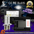 High Power 100w HID Xenon Kit with 100W Black Ballast Supre Bright with H1 H3 H4-1 H7 H8 H9 H11 9005 9006 Xenon Head Lamp