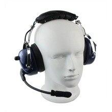 2 Pin PTT VOX Adjustable Volume Soundproofing Earpiece Headphone for KENWOOD BAOFENG UV-5R BF-888S Walkie Talkie C0258L