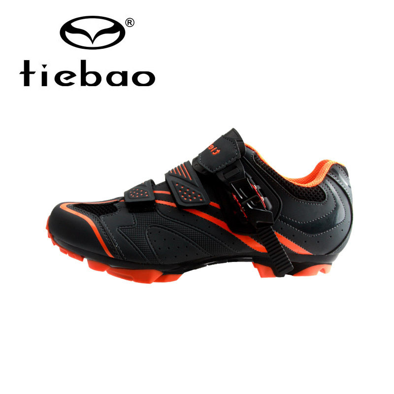 Tiebao 2017 New Mountain Bike Shoes Auto-lock Cycling Shoes Men MTB Wear-resistance Bicycle Shoe sapatilha ciclismo Size 39-46 west biking bike chain wheel 39 53t bicycle crank 170 175mm fit speed 9 mtb road bike cycling bicycle crank