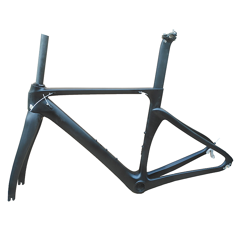 In Stock 2017 Newest Carbon Road Frame Seuqel Brand Carbon Bicycle Frame T1000 Durable Racing Bike Frame Made In China