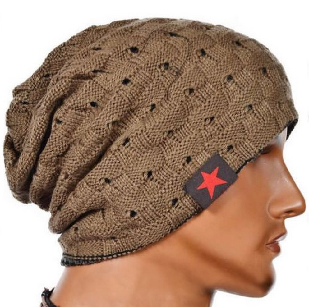New winter five stars woman hats casual Hip Hop Beanies man hat  Knitted Toucas Bonnet Hats warm Crochet Ski Cap Skullies Gorros 2016 winter women beanie adults hip hop hats diamond vogue men hats knitted ski skullies bonnet crochet casquette gorros de lana