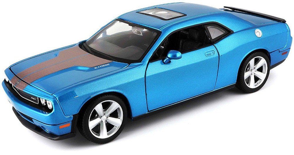 Maisto 1:24 2008 Dodge Challenger SRT8 Diecast Model Racing Car Vehicle NEW IN BOX недорго, оригинальная цена