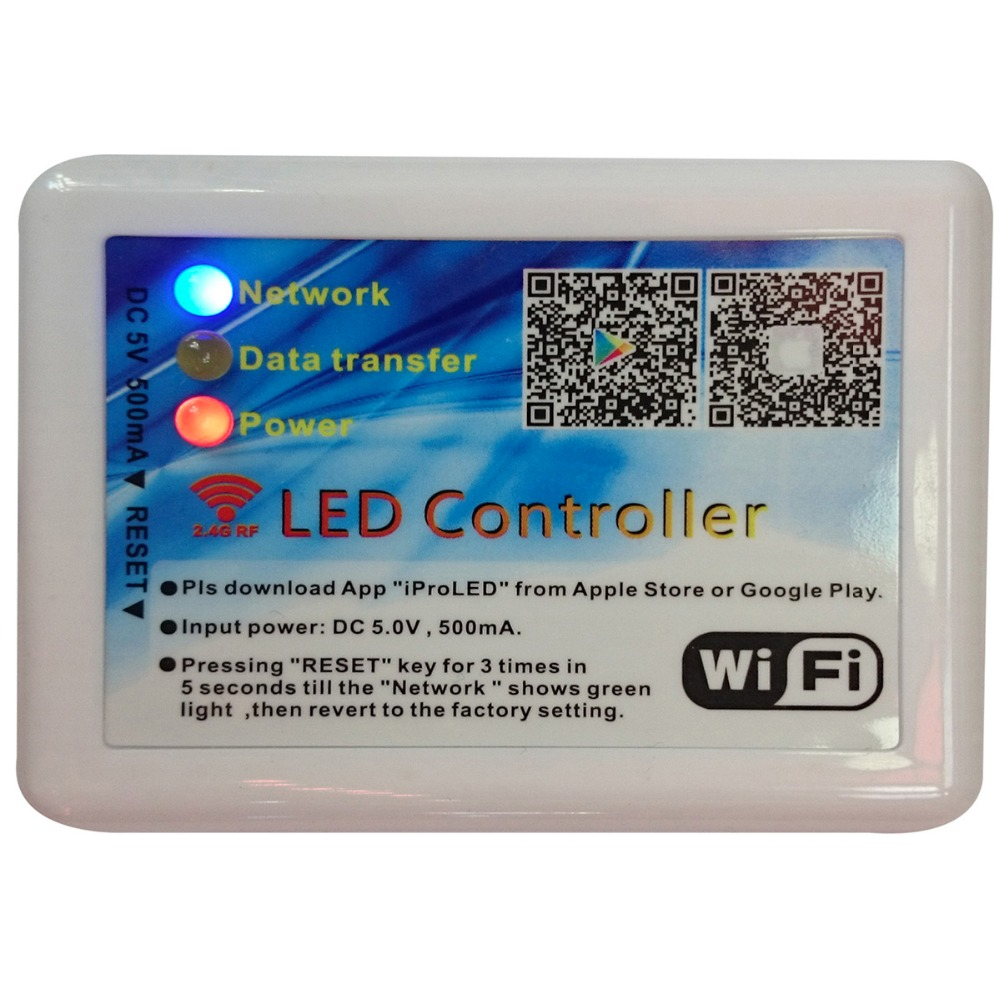 Iproled 52w 10w 24ghz Rf Integrated Remote Or Smart Phone App Brightness Control For Multiplexed Leds Led Light Cct And Constant Current Driver In Lighting Transformers