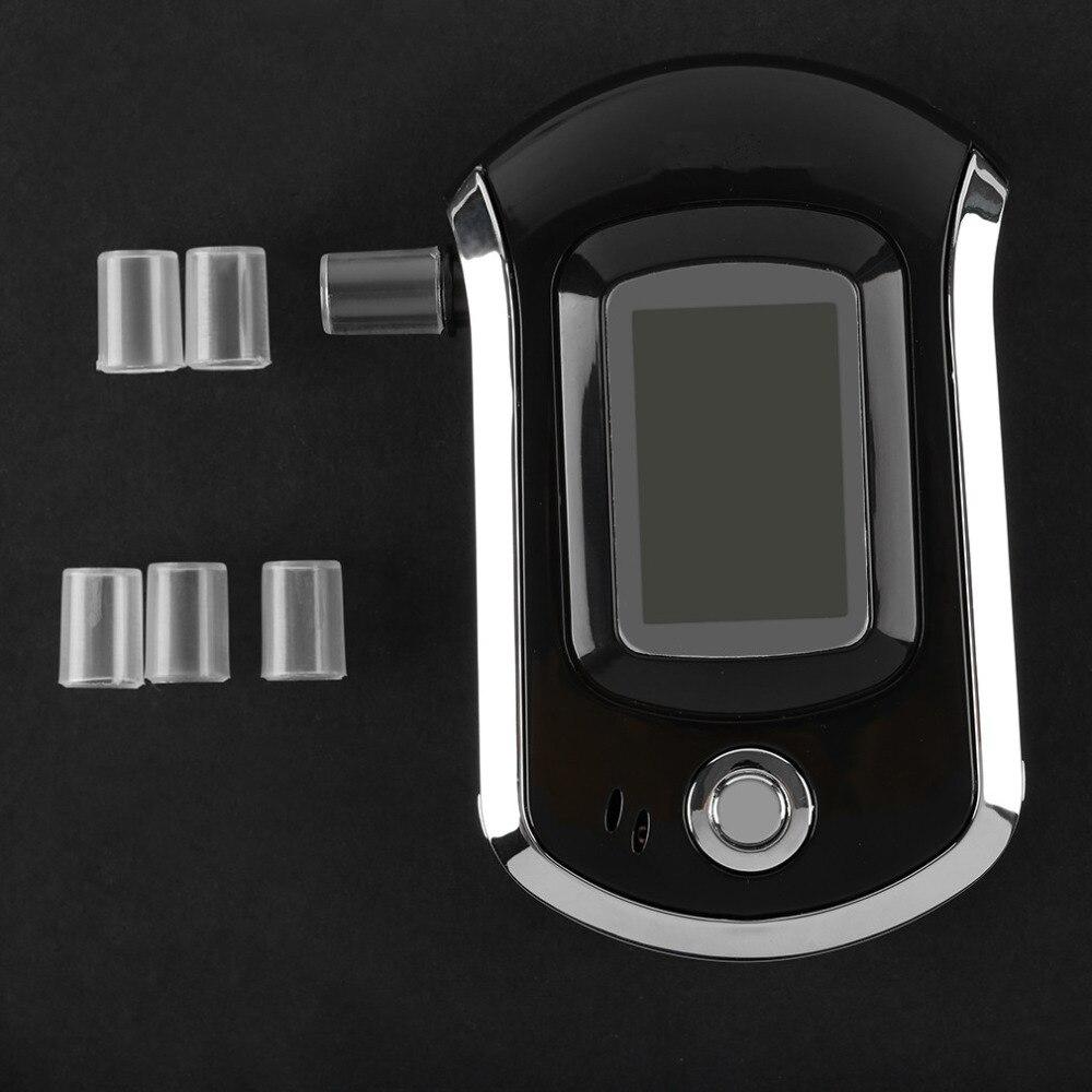 New Car-Styling Professionale Schermo Lcd Alcol Tester Digital Alcohol Detector Ad Alta Sensibilità Etilometro Vendita Calda