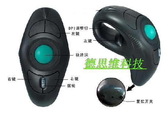 Y10 Trackball Laser Ergonomic Mouse