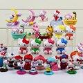 Мультфильм Hello Kitty Фигура Игрушки Коллективные Куклы Подарок Для Девочки 3 ~ 5 см 5 Стилей Можно Выбрать
