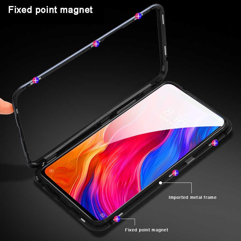 360 Магнитный Адсорбция дело для huawei P30 P20 Lite P10 плюс Nova 2 S 2i 3 3i 3e 4 4e Y6 Prime 2018 Y9 2019 Коврики 10 20 20X случаях