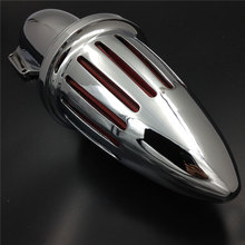 купить For Harley Softail Dyna Touring Street Glide Road Glide Electra Glide Motorcycle Air Cleaner Kit Intake Filter Chrome онлайн