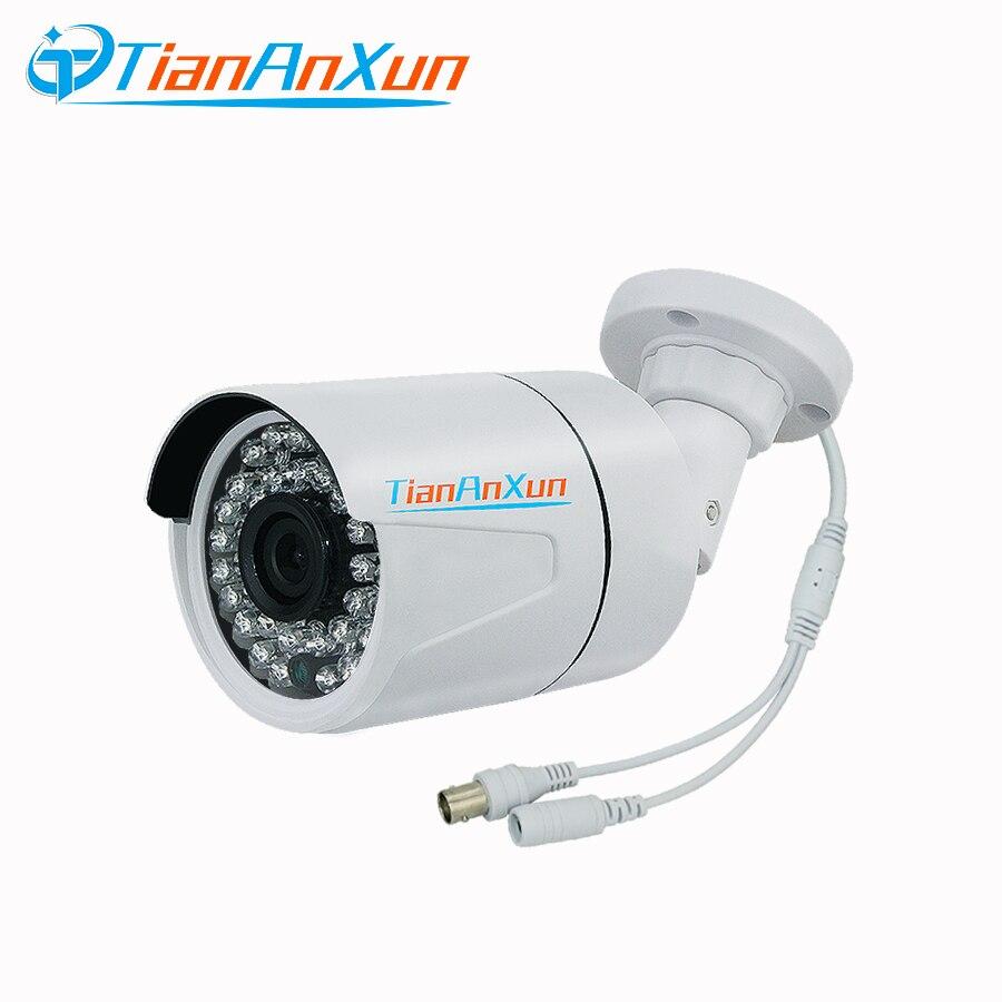 Tiananxun Analog Surveillance Ahd Camera 1080P Cctv Cameras 720P Infrared Night Vision Indoor Outdoor Bullet Camera цены