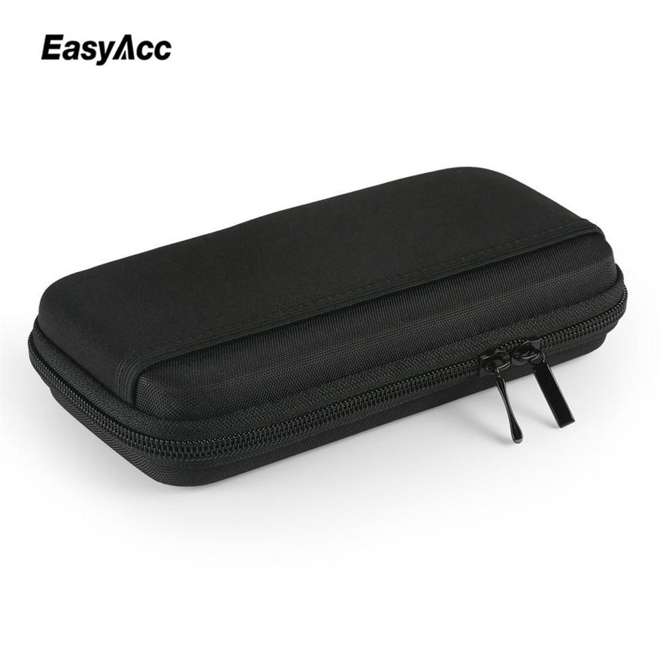 Portable Power Bank EVA Pouch Bag For Anker Rock PISEN Baseus 10000mAh Powerbank External Battery Case Customized Pouch Case