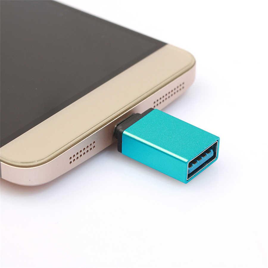 USB-C タイプ C に USB OTG ミニアダプタ 3.0 Converte サムスンギャラクシー Note8 高速認定携帯電話アクセサリー充電器
