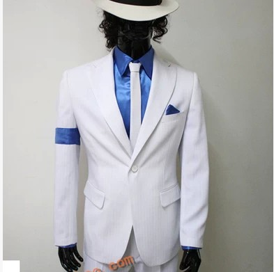 2016 new male singer Michael Jackson DJ stage costumes with paragraph black dangerous men cultivating black suits + send tie