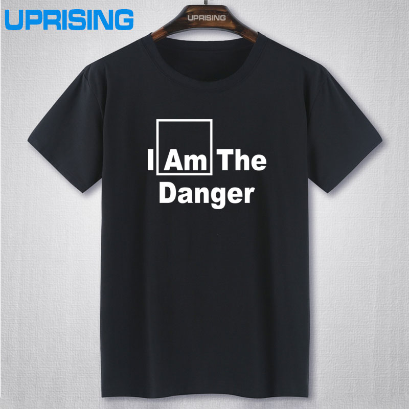 I AM THE DANGER PRINTED MENS T SHIRT / BREAKING BAD WALTER WHITE FUNNY NOVELTY TShirt Tee Shirt Unisex More Size and Colors